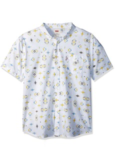 Levi's Men's Rucc Short Sleeve Woven Shirt  XX Large