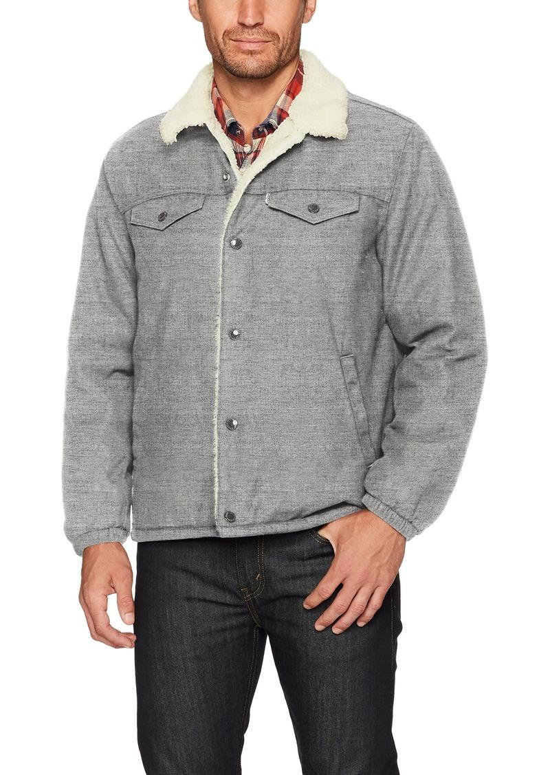 Levi's Men's Sherpa Coach Trucker Jacket  XL