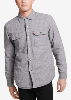 Levi's Mens Sherpa-Lined Shirt Jacket