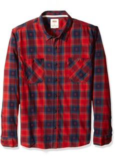 Levi's Men's Shoppe Long Sleeve Woven Shirt