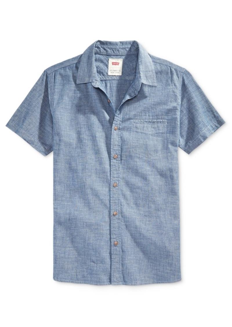 Levi's Men's Short-Sleeve Chambray Shirt