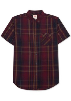 Levi's Men's Short-Sleeve Plaid Shirt
