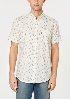 Levi's Men's Slim-Fit Tropical Drawings Shirt