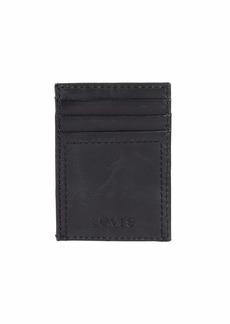 Levi's Men's Slim Front Pocket Wallet