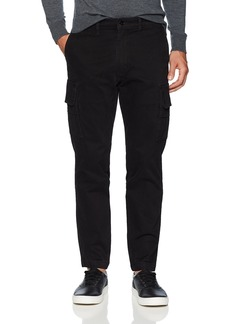 Levi's Men's Slim Taper Cargo Pant Black Soft wash Stretch Twill