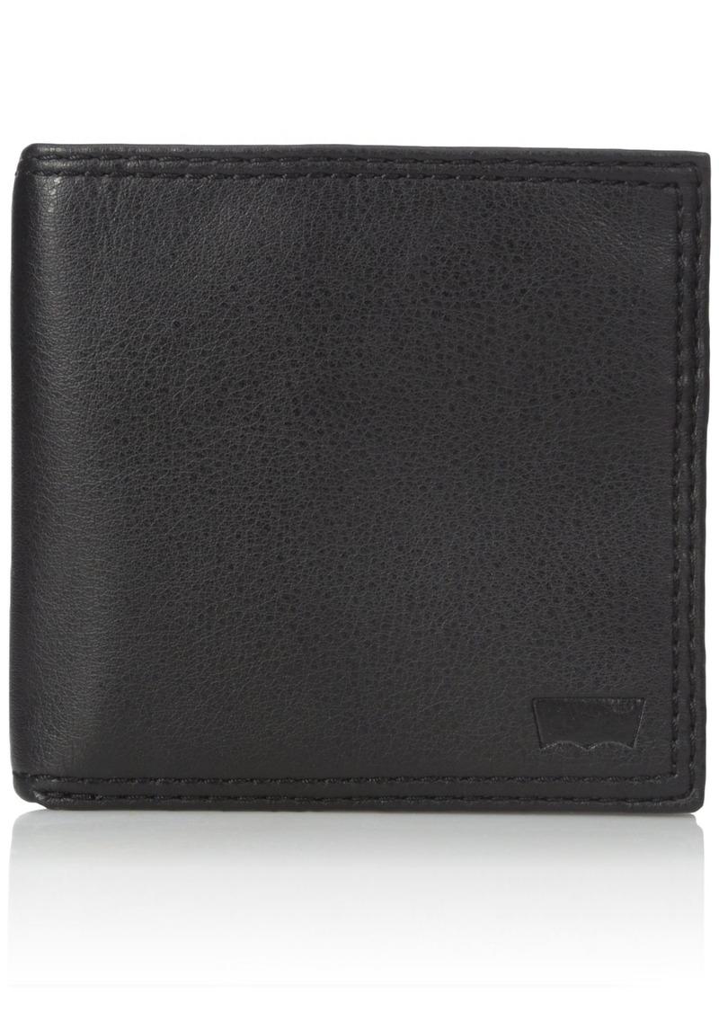 Levi's Men's Soft Leather Hipster Wallet