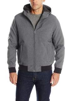 Levi's Men's Soft Shell Sherpa Lined Hoody Bomber  M