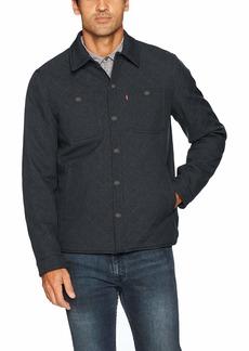Levi's Men's Soft Shell Two Pocket Shirt Jacket