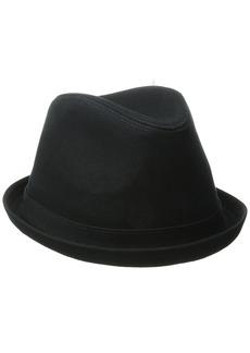 Levi's Men's Solid Fedora Hat Black