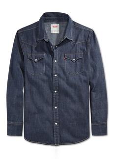 Levi's Men's Standard Barstow Western Long-Sleeve Denim Shirt