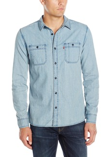 Levi's Men's Standard Work Shirt Denim