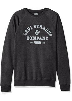 Levi's Men's Strand Vintage Crewneck Sweatshirt caviar