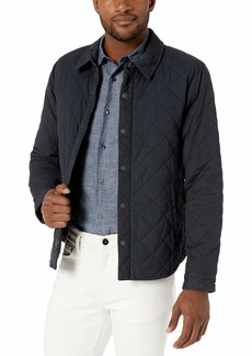 Levi's Men's Stretch Cotton Quilted Shirt Jacket