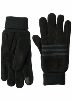 Levi's Men's Suede Gloves with Knit Grip and Screen Capatable Finger
