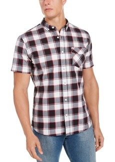 Levi's Men's Swill Up Check Short Sleeve Shirt