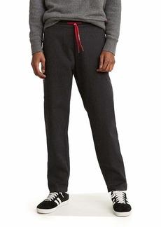 Levi's Men's Taper Pull On Pants mineral black - Stretch Brushed Melange
