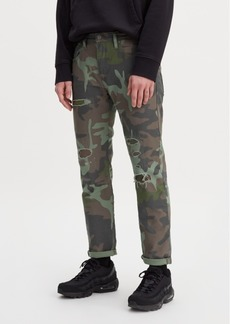 Levi's Men's Tapered Camo Hi Ball Roll Sneaker Jean