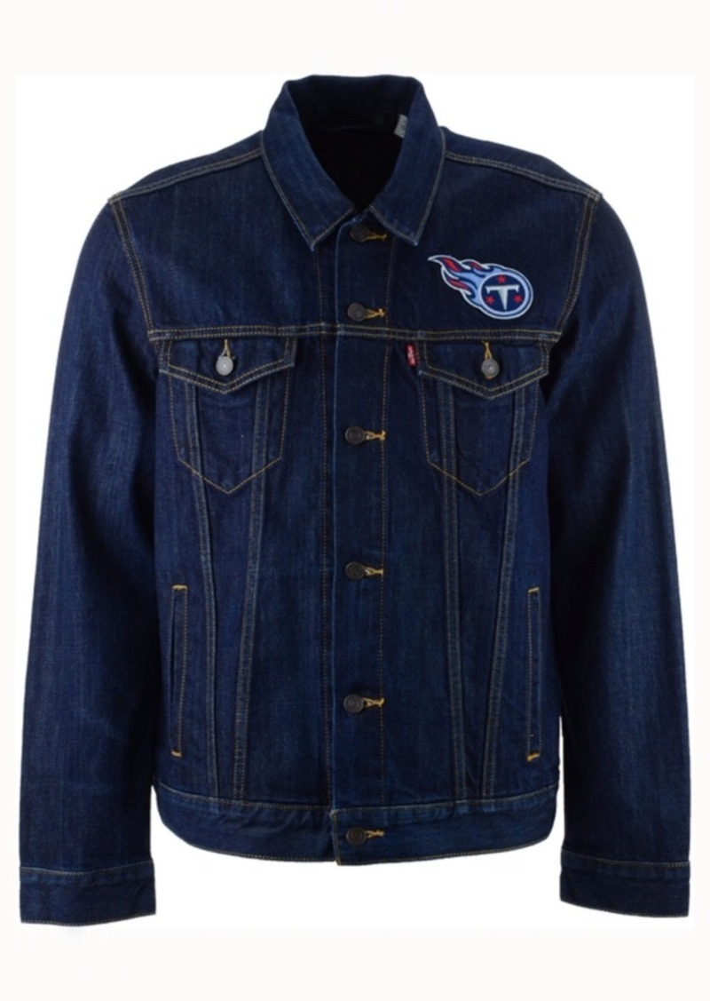 Levi's Men's Tennessee Titans Trucker Jacket