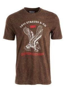 Levi's Men's Textured Eagle T-Shirt