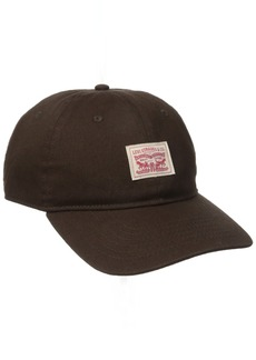 Levi's Men's Twill Baseball Dad Hat Brown