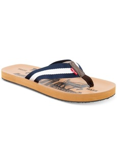 Levi's Men's Two Horse Flip Flops Men's Shoes