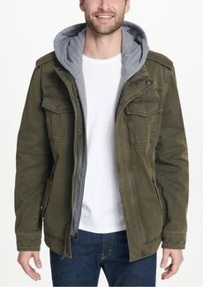 Levi's Men's Two Pocket Hooded Trucker Jacket