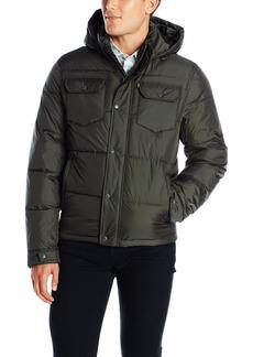 Levi's Men's Two Pocket Puffer Hooded Jacket