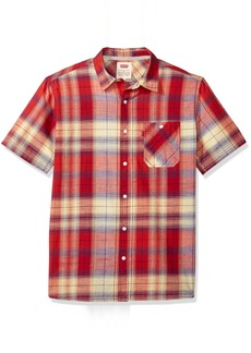 Levi's Men's Uday Short Sleeve Woven Shirt