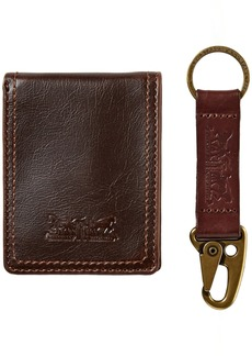 Levi's  Men's  Wallet with Gift SetBrown with Key Fob
