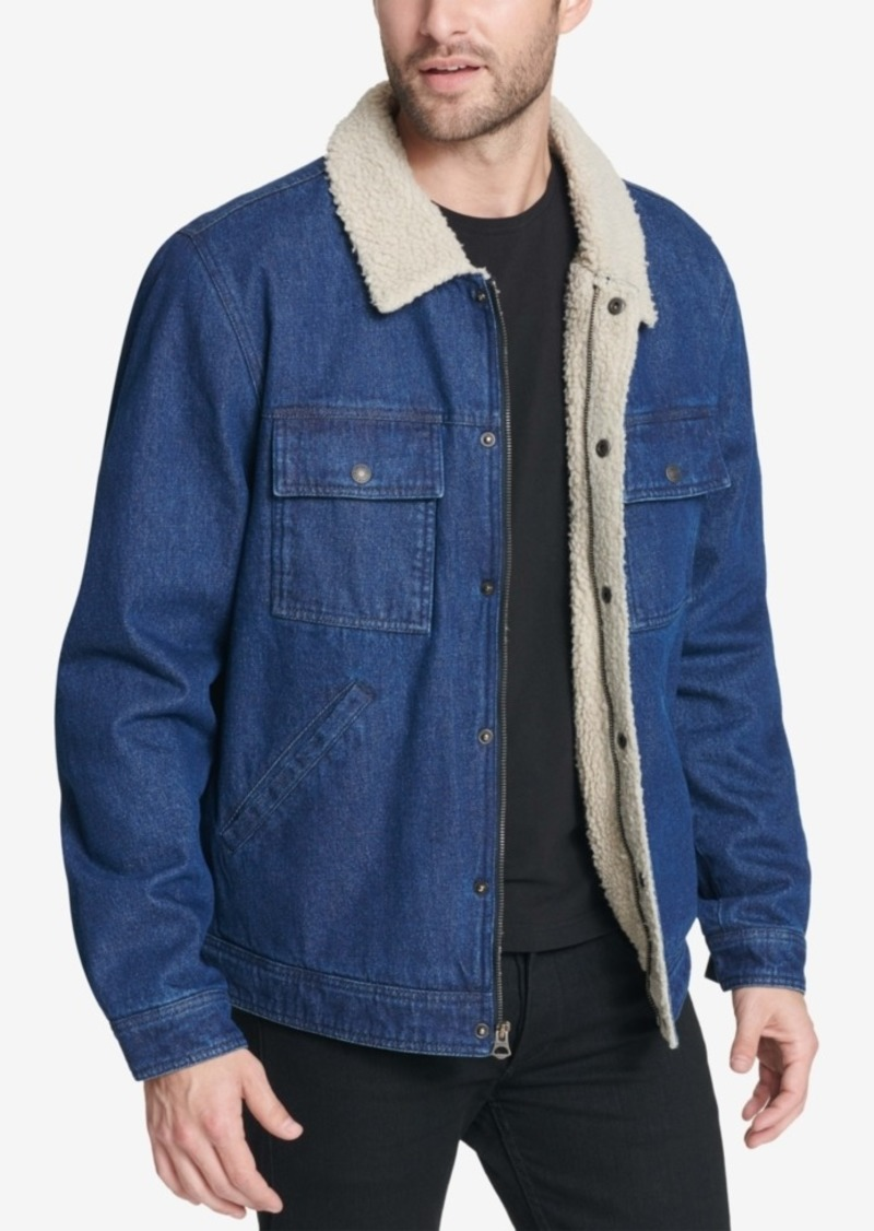 Levi's Men's Washed Denim Trucker Jacket