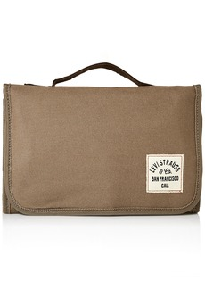 Levi's Men's Waxed Canvas Hanging Travel Kit