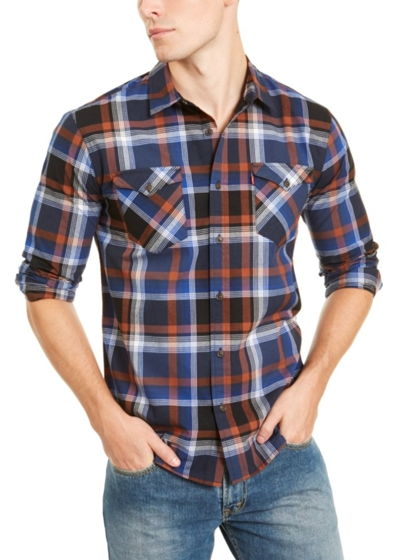 Levi's Men's Zuni Regular-Fit Plaid Shirt