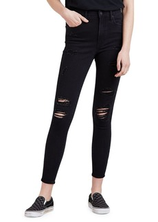 Levi's Mile High-Rise Skinny Ankle Jeans