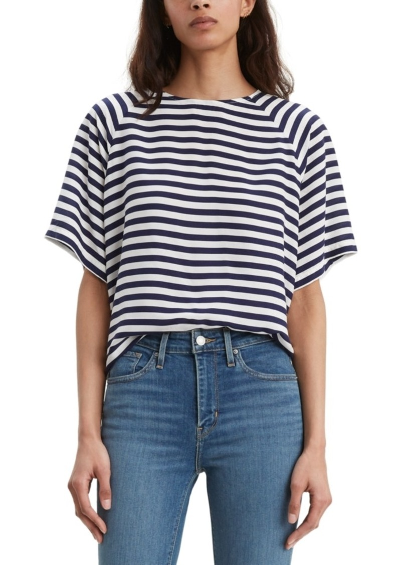 Levi's Women's Miranda Striped Crewneck T-Shirt