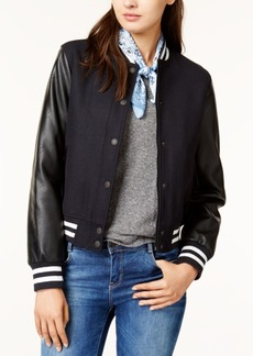 Levi's Mixed-Media Bomber Jacket