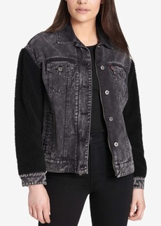 Levi's Mixed-Media Trucker Jacket