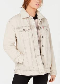 Levi's Mixed-Media Trucker Jacket