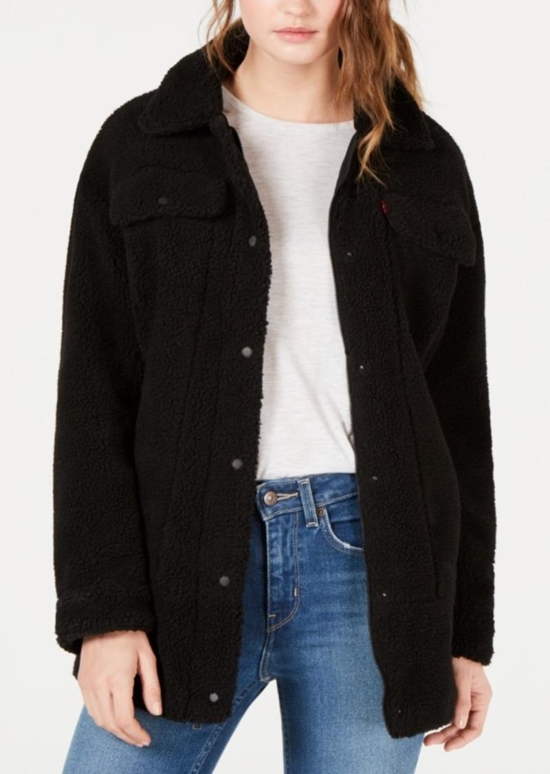Levi's Women's Oversized Sherpa Trucker Jacket