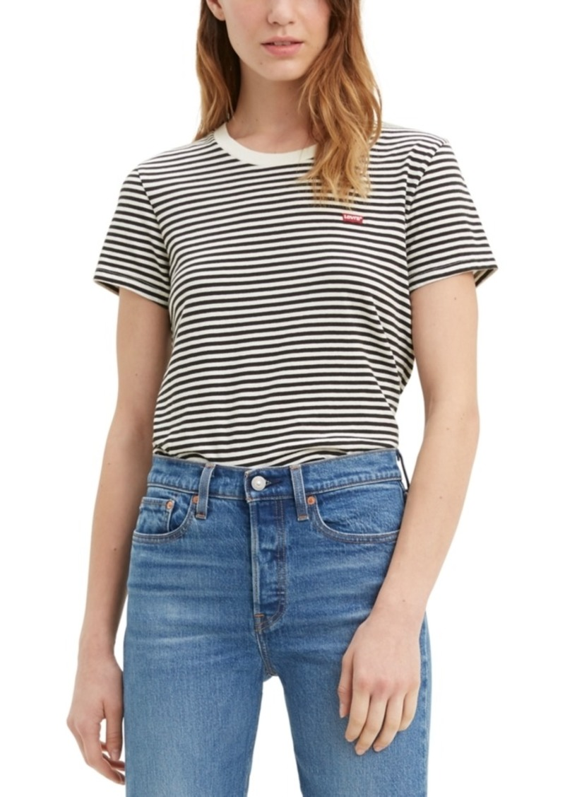 Levi's Perfect Striped Cotton T-Shirt