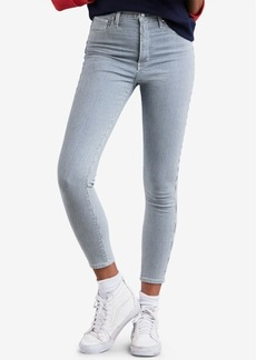 Levi's Mile High Pinstriped Skinny Ankle Jeans
