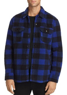 Levi's Plaid Double-Faced Sherpa Shirt Jacket