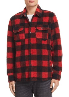Levi's Plaid Fleece Shirt Jacket