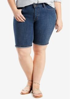 Levi's Plus Size Bermuda Shorts