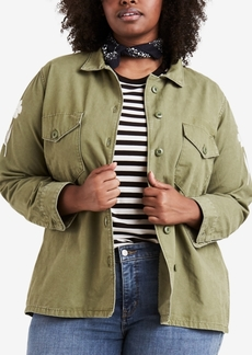 Levi's Plus Size Cotton Embroidered Jacket