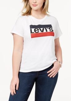 Levi's Plus Size Cotton Logo T-Shirt