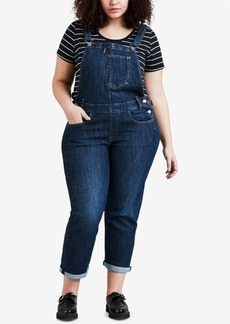 Levi's Plus Size Denim Overalls