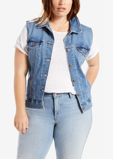 Levi's Plus Size Denim Vest