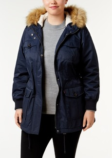 Levi's Plus Size Faux-Fur Hooded Parka