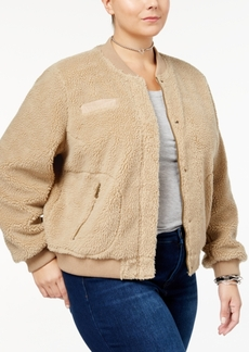Levi's Plus Size Fleece Bomber Jacket