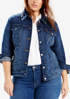 Levi's Plus Size Trucker Denim Jacket
